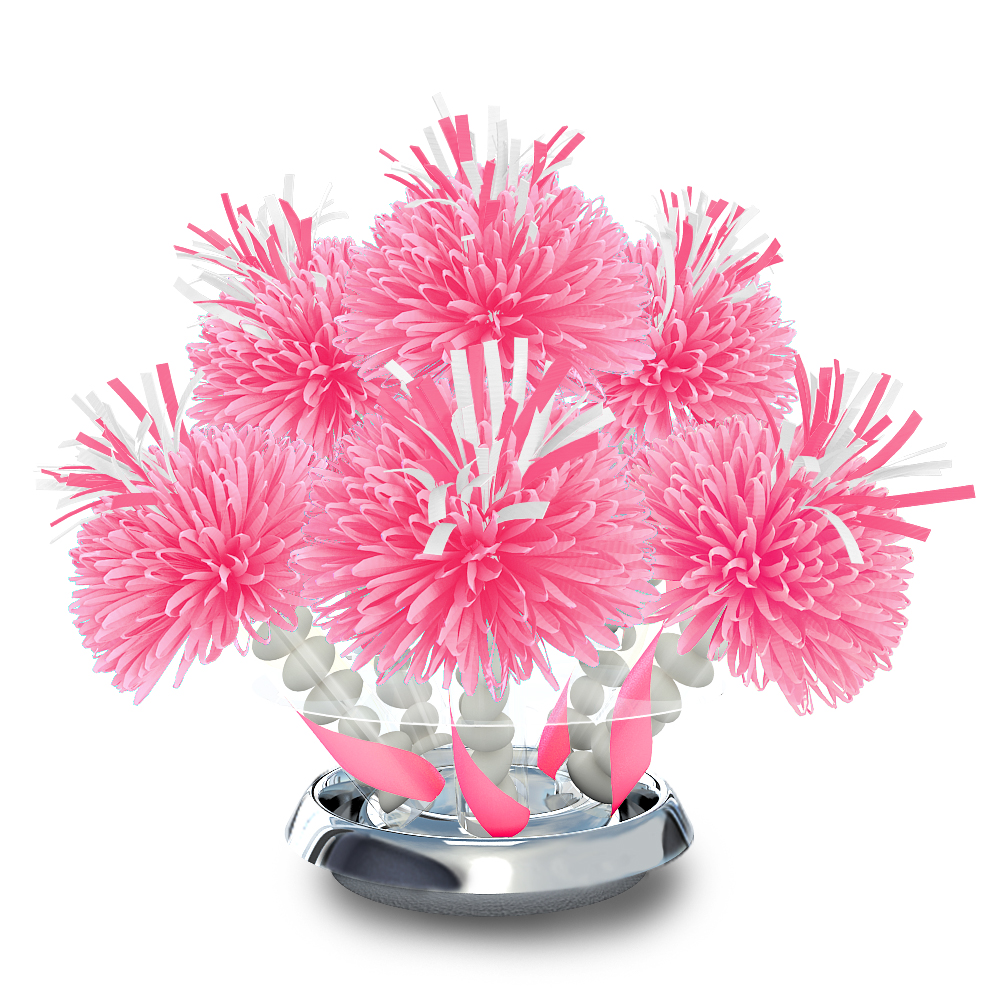 Pretty in pink sweet centerpiece wanderfuls