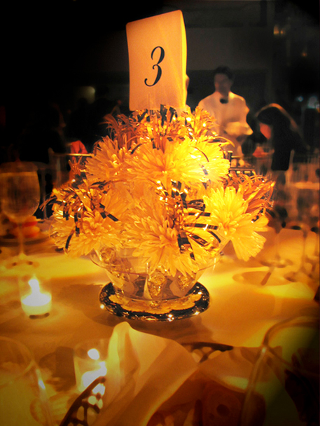 Elegant Candlelight Wedding With Wanderfuls Centerpieces For Matt And Sarah.