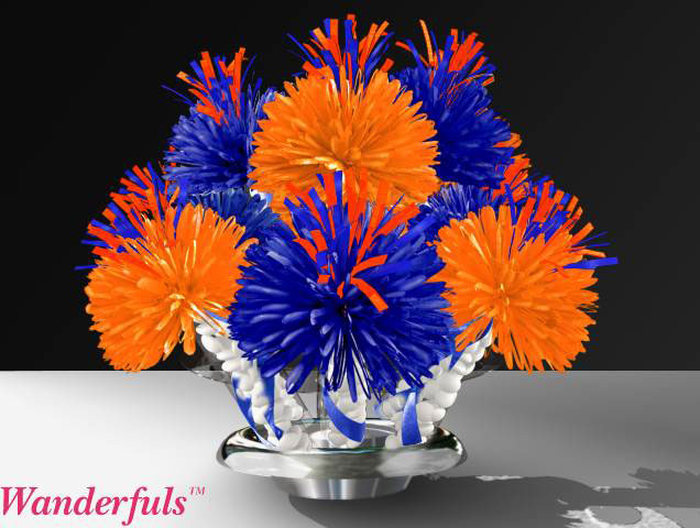 Knick's Season Subscriber Event Centerpieces Designed By Wanderfuls.