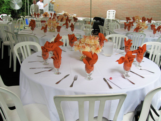Mohini & Roy Staszewski's Orange Themed Wedding