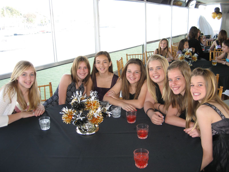 Sweet 16 Party With Black And Gold Wanderfuls.