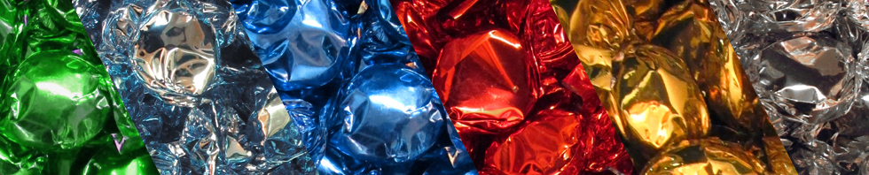 candy-foil-wrapped