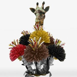 African Jungle Safari Giraffe Centerpiece