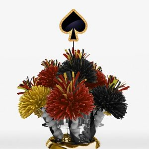 Casino Spade Centerpiece (Can Also Be Made With A Club, Heart, Or Diamond)