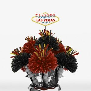 Las Vegas City Sign Centerpiece