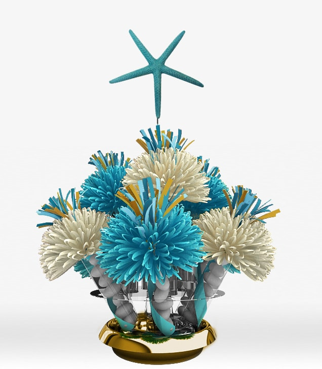 Ocean Starfish Centerpiece - Themed Party Centerpieces And Wedding Centerpieces By Wanderfuls