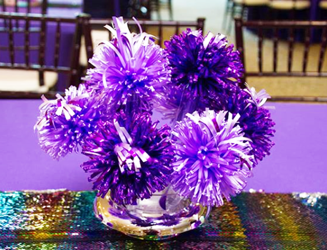 Sweet 16 Centerpieces 2
